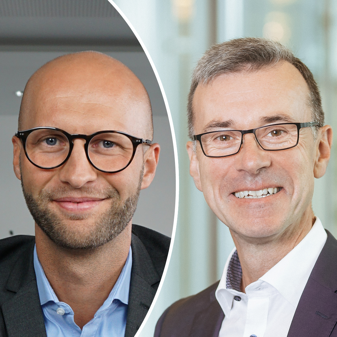 Dr. Roland Röder und Christoph Richard Müller (Frankfurter Sparkasse) im Interview